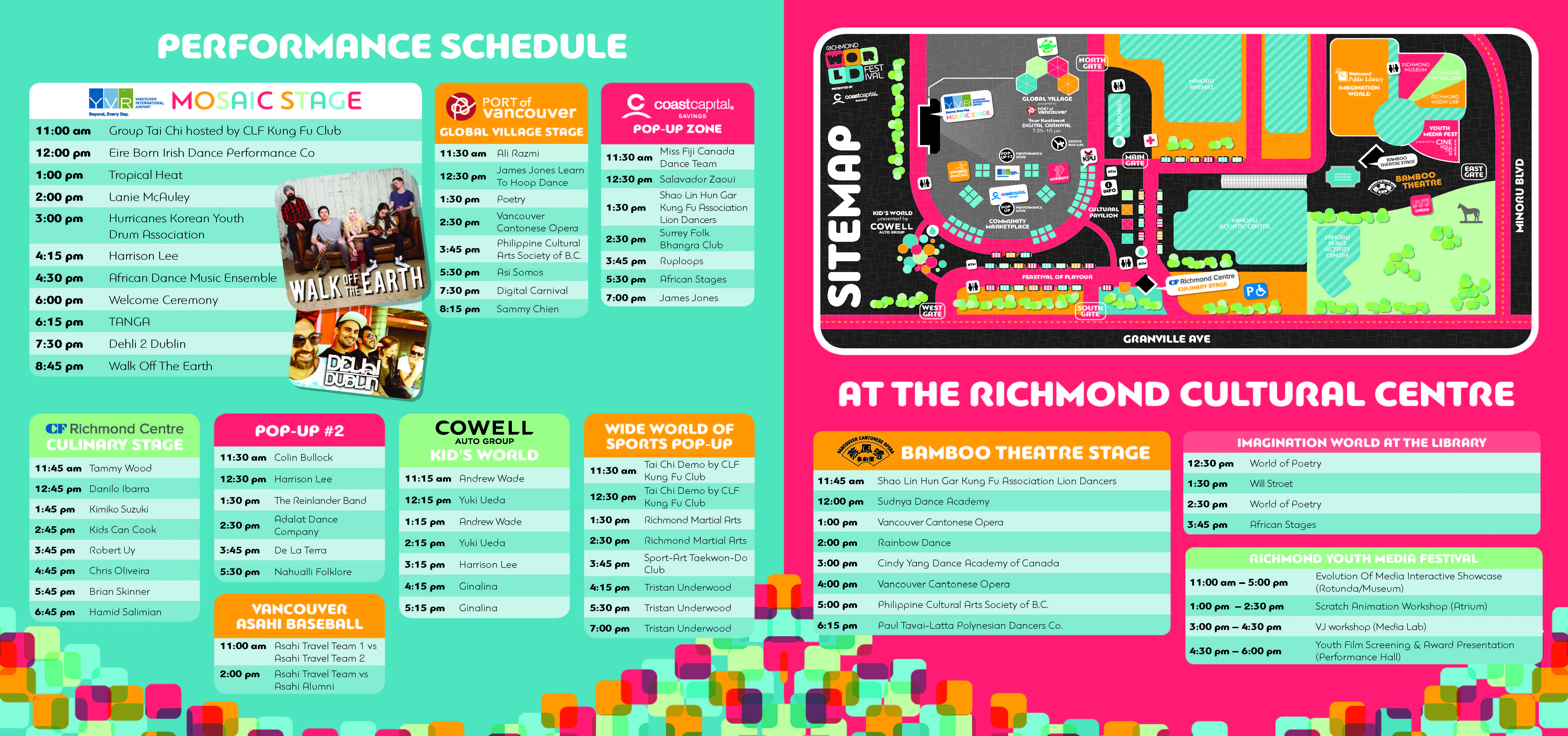 RWF2016 Site Map